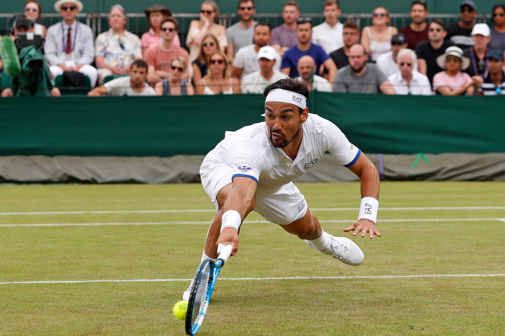 Wimbledon: La ofensa del italiano Fognini que abrió viejas heridas de guerra
