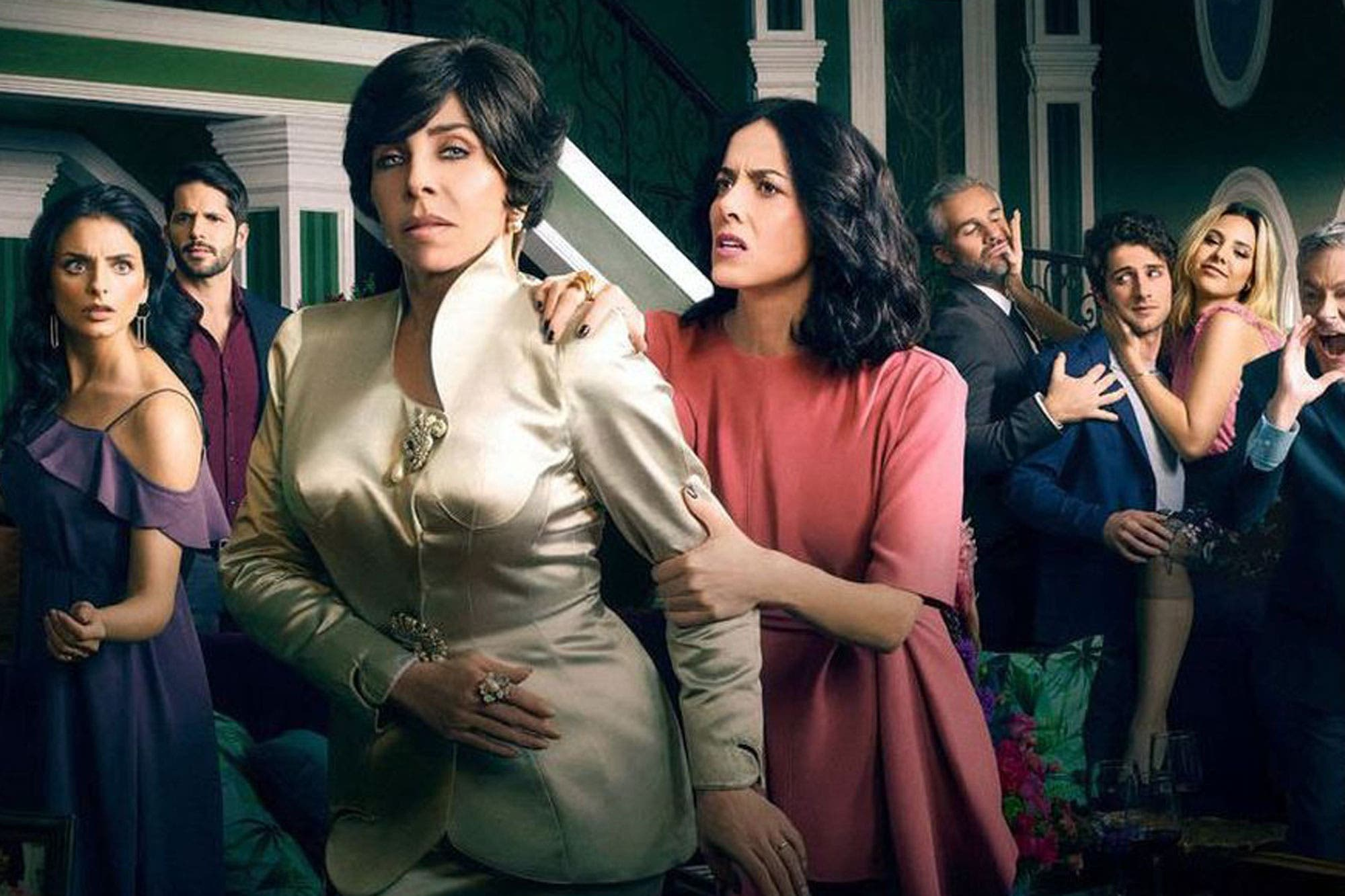 La Casa de las Flores: la muerte del personaje de Verónica Castro y el curioso audio de Paulina