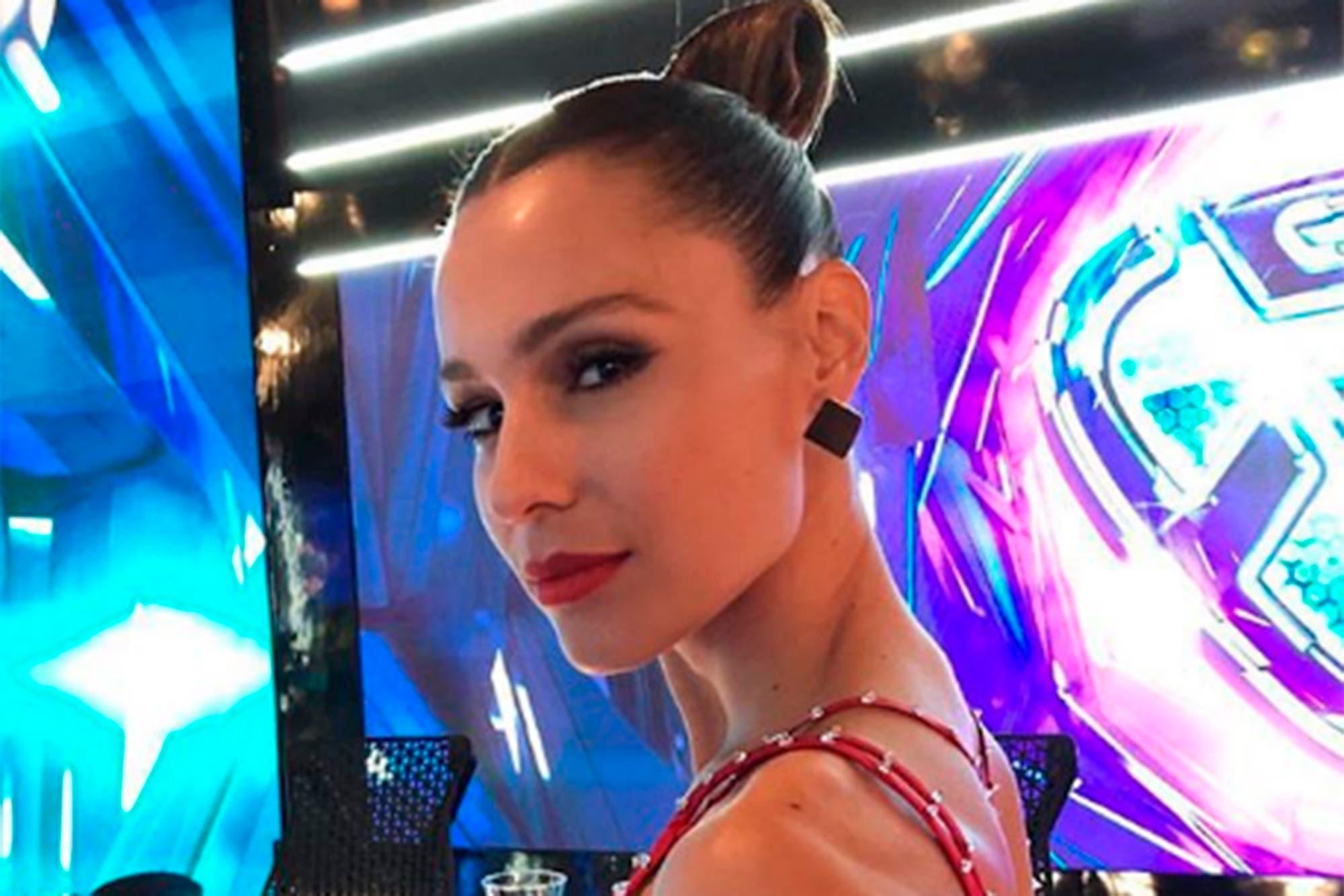 ShowMatch 2019: Tinelli le preguntó a Pampita sobre los rumores de romance con Nico Occhiato