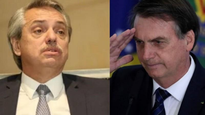 Bolsonaro afirmó estar dispuesto a conversar con Alberto Fernández