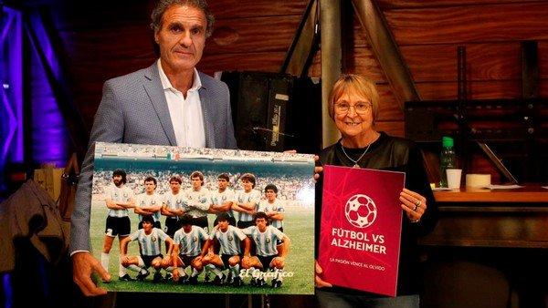 Una lucha que se apoya en el fútbol para combatir el Alzheimer