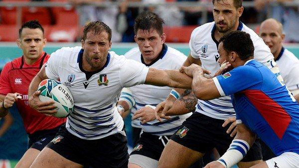 Mundial de rugby: Italia debutó con un sólido triunfo ante Namibia