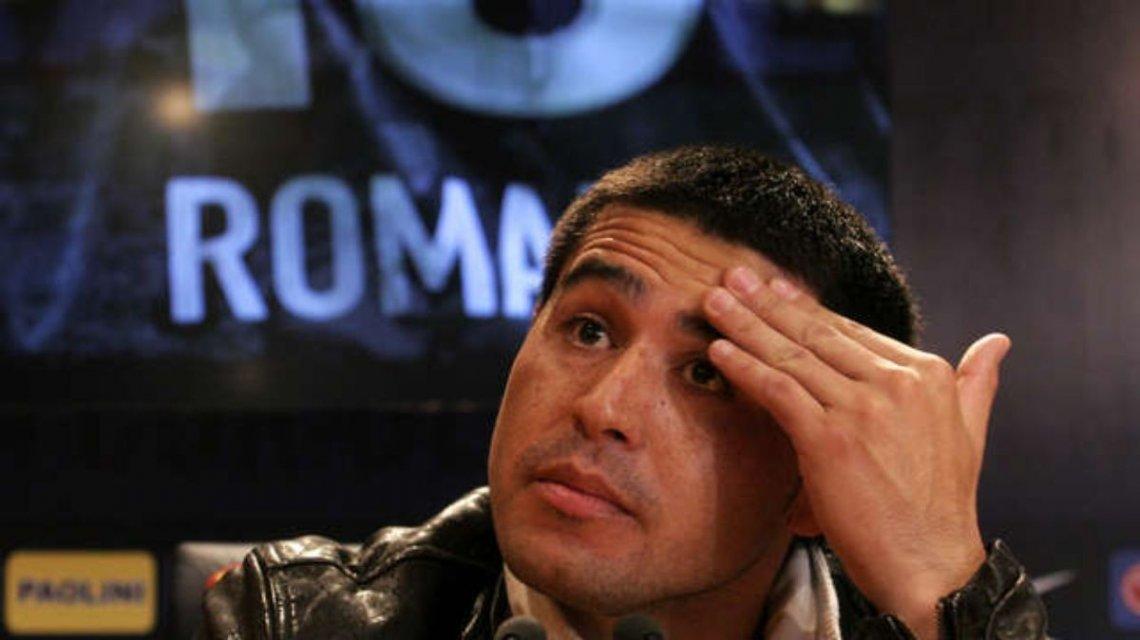 Riquelme pidió unión en Boca