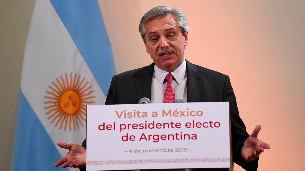 """""""No podemos pagar la deuda en las condiciones que está la economía"""", aseguró Fernández"""