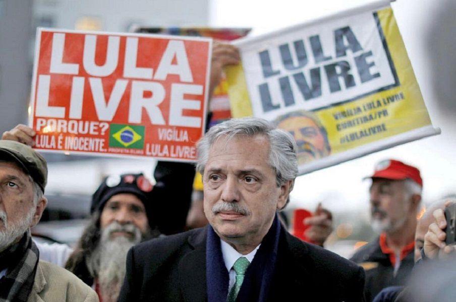 """""""¡Valió la pena la demanda de tantos!"""", aseguró Fernández por una supuesta liberación de Lula"""