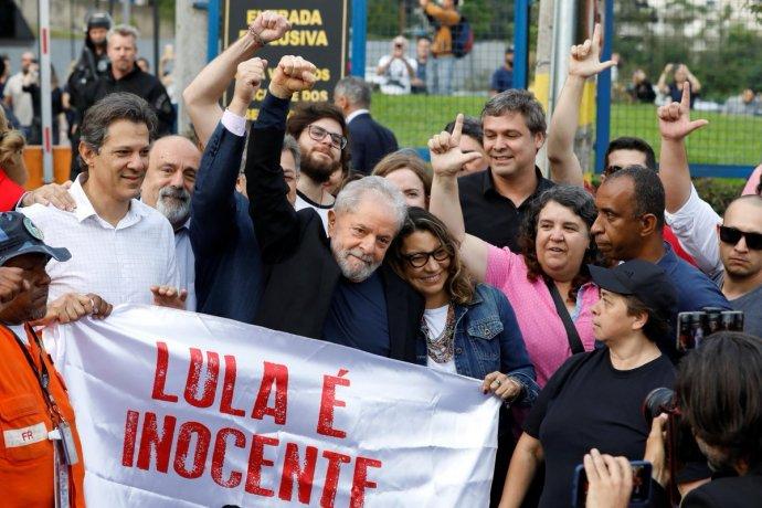 BRASIL: Liberaron a Lula tras la decisión de la Corte