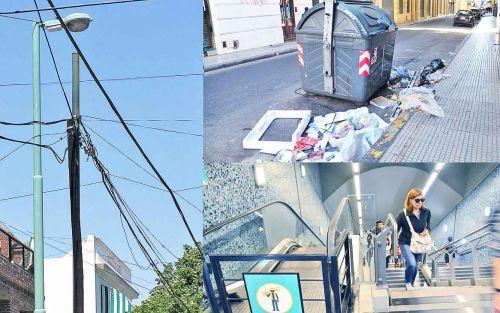 Alumbrado, basura y subtes, al tope de los servicios más multados en la Ciudad