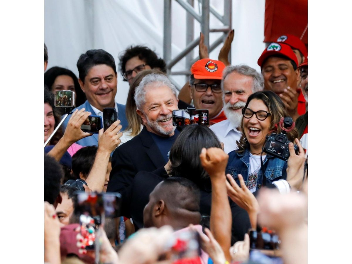 Lula saludó al Grupo de Puebla y felicitó a Alberto Fernández por la victoria presidencial