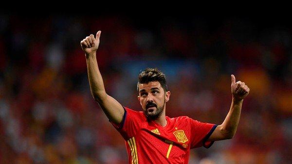 David Villa anunció que se retirará del fútbol a fin de año