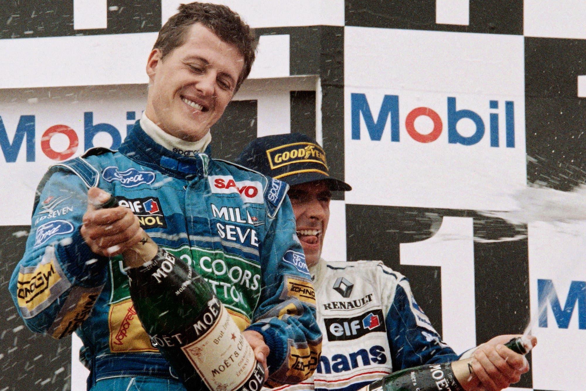 El día que cambió la historia de la Fórmula 1: a 25 años del primer título mundial de Michael Schumacher