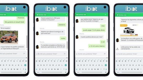 Dos chatbots argentinos son nominados a un prestigioso premio internacional