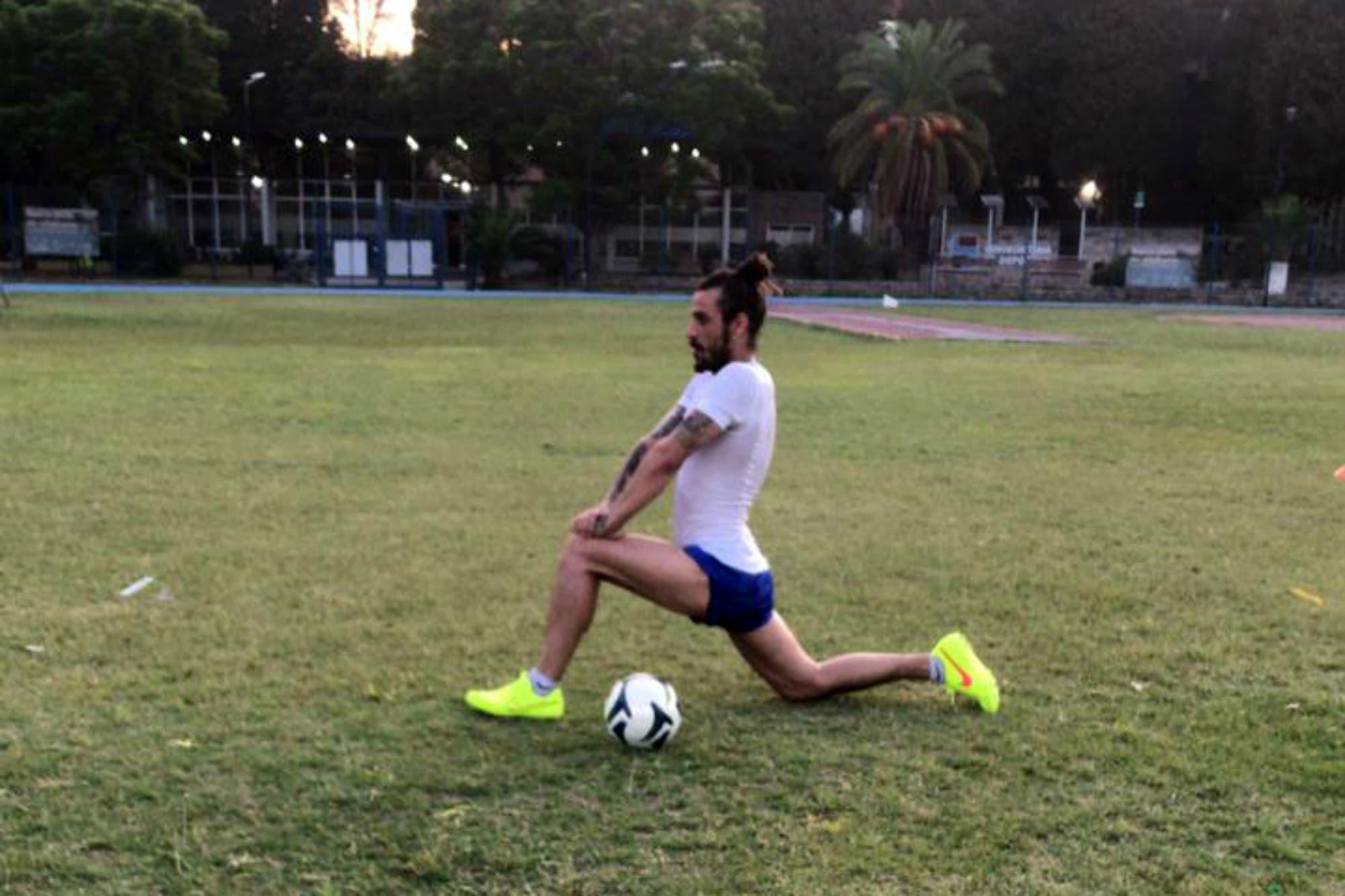 El regreso de Daniel Osvaldo: la puesta a punto en el último día del año antes de firmar para Banfield