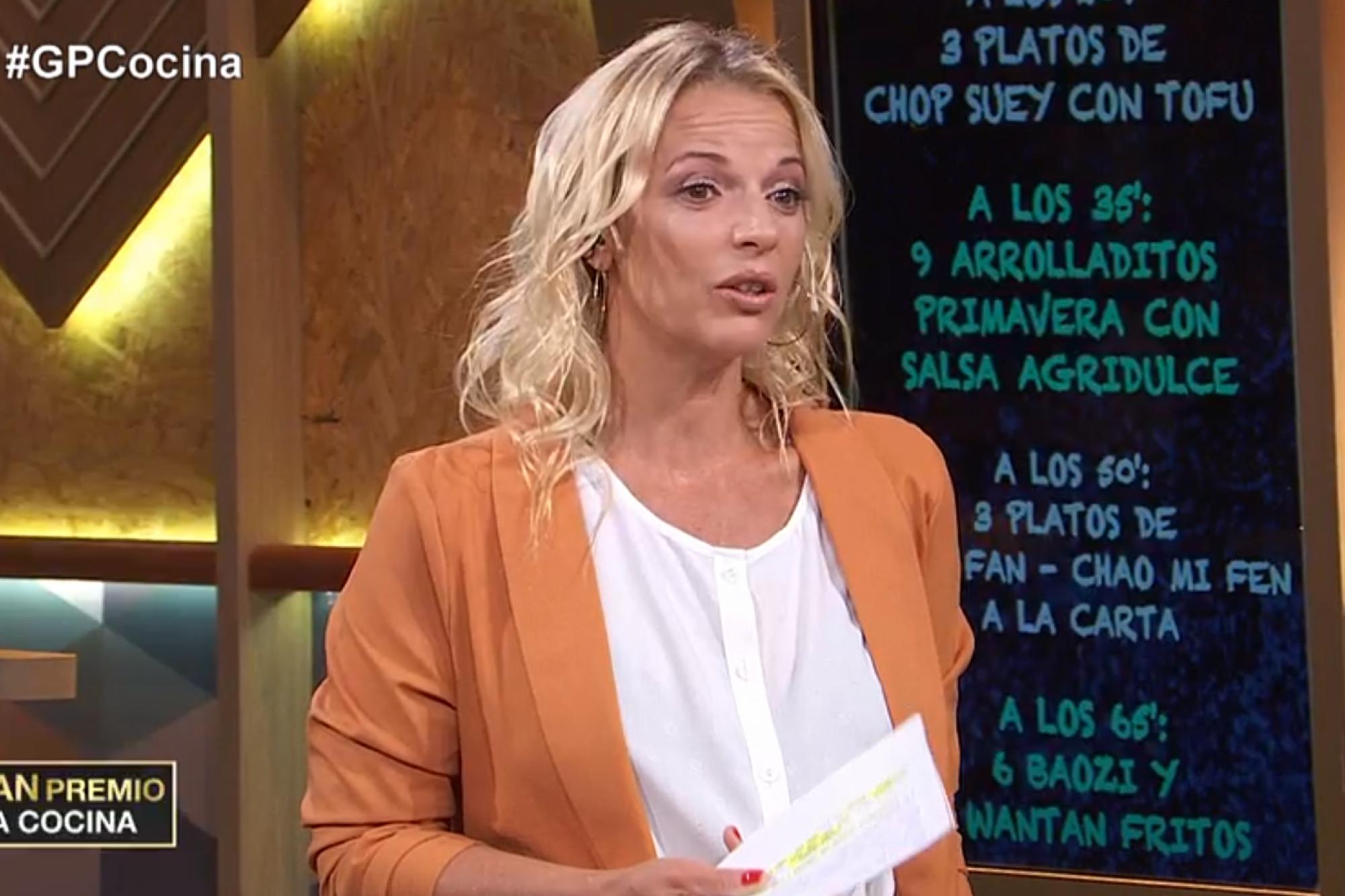 Celos en El gran premio de la cocina: Carina Zampini hizo un llamativo reclamo al jurado