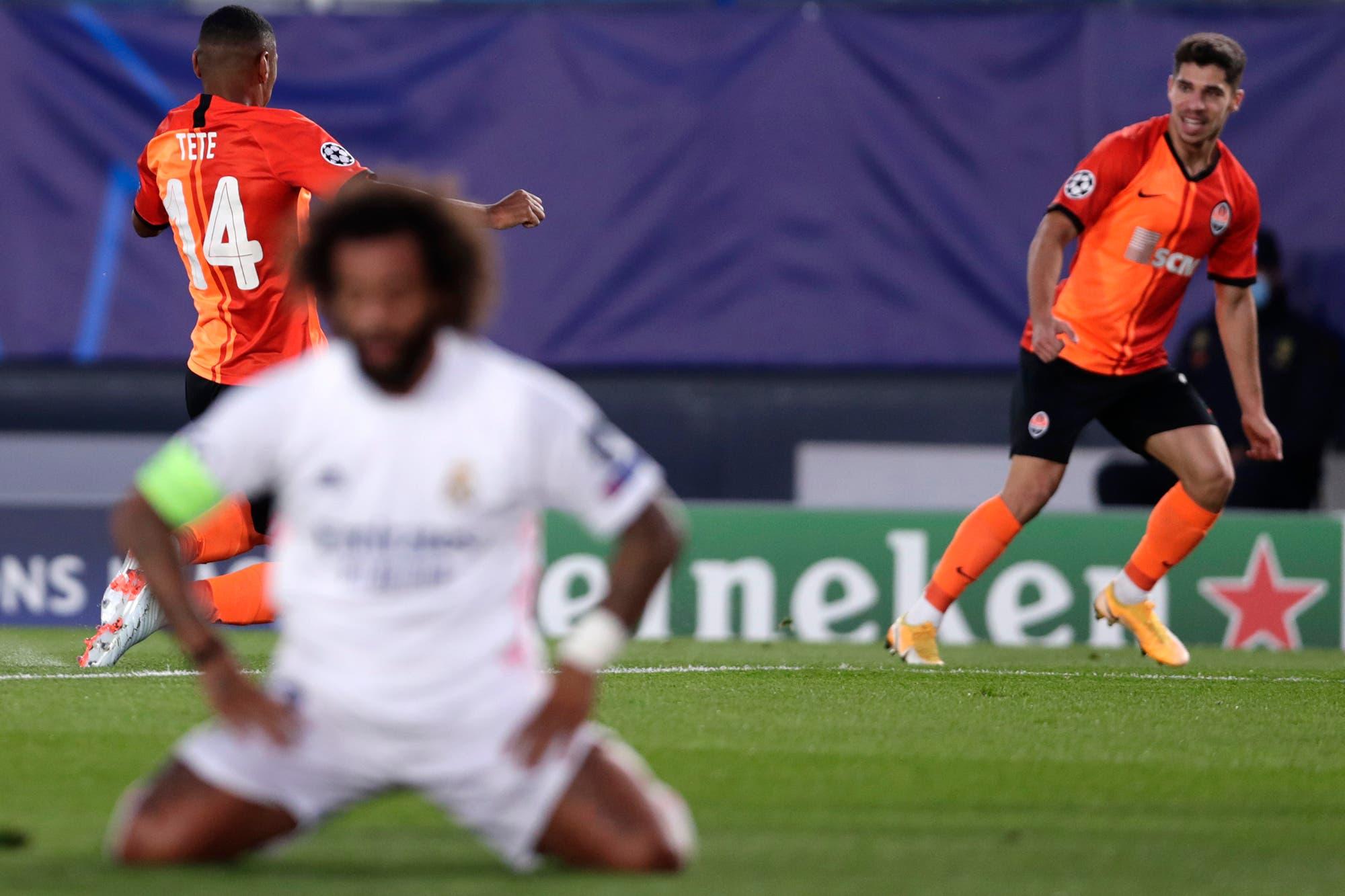 Real Madrid-Shakhtar: histórica derrota del Merengue en la Champions League frente a un rival con solo 13 profesionales
