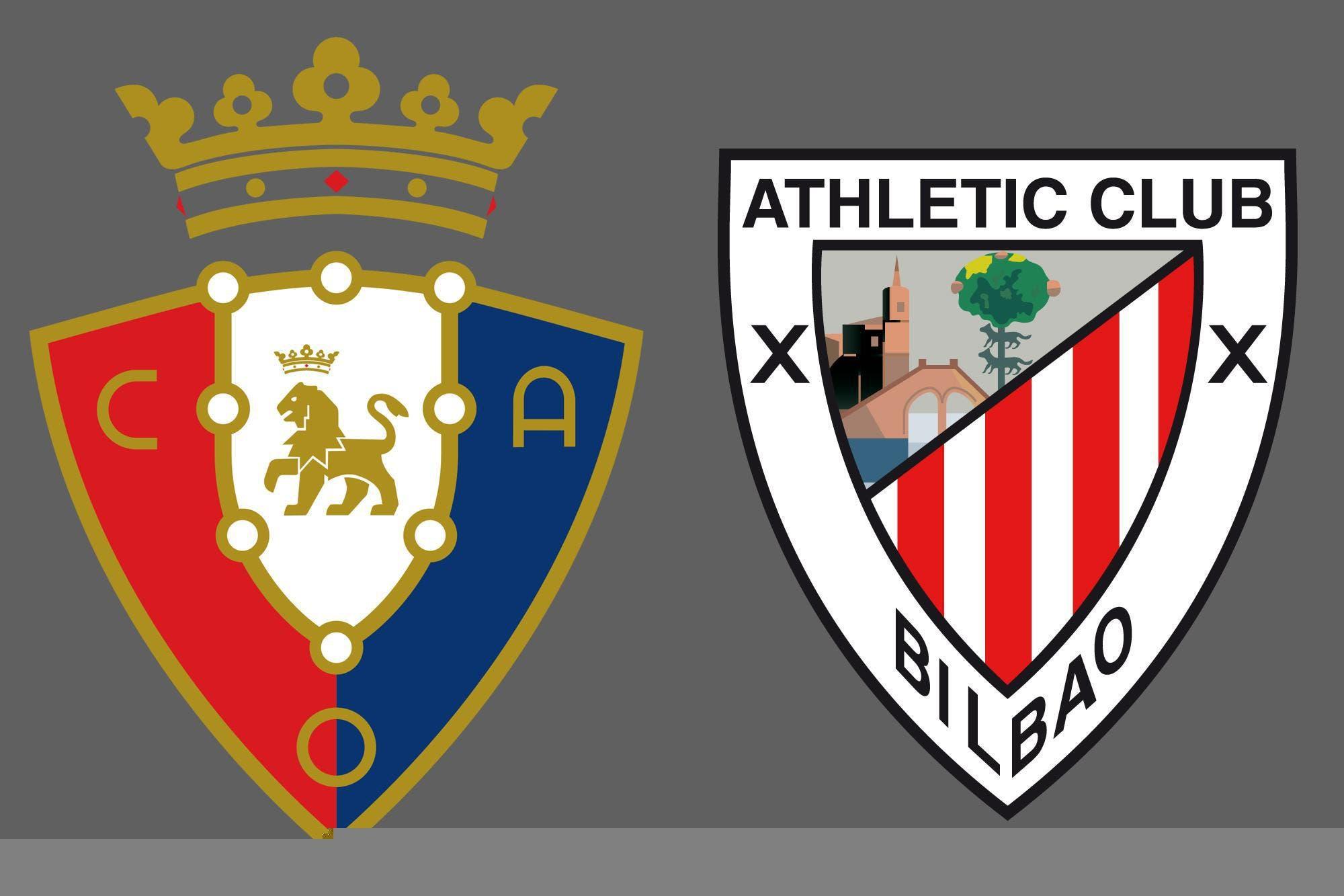 Liga de España: Osasuna venció por 1-0 a Athletic Club de Bilbao como local