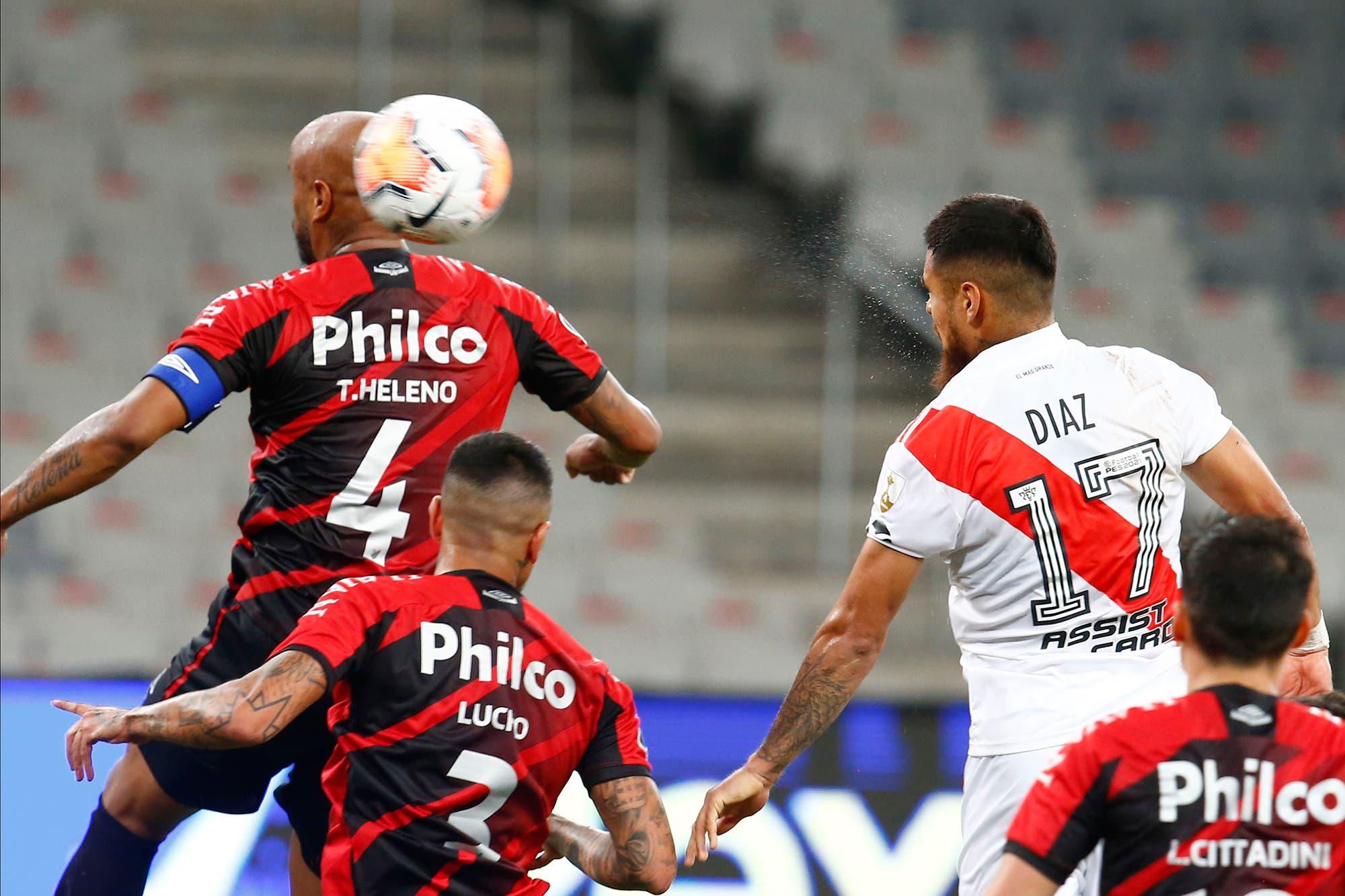 Athletico Paranaense-River: el equipo de Gallardo logró un empate agónico en Curitiba