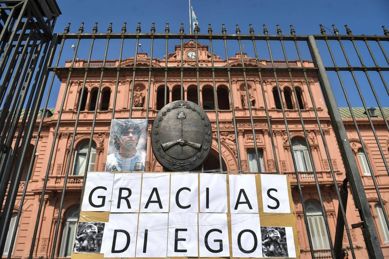 La muerte de Maradona: se publicó el decreto por los tres días de duelo nacional