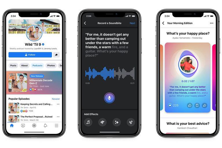 facebook-ofrecera-podcasts-y-otros-productos-de-audio-en-vivo,-similares-a-clubhouse,-en-su-plataforma