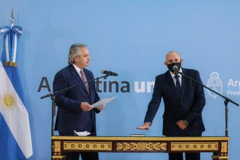 el-presidente-le-le-tomo-juramento-al-nuevo-ministro-de-transporte