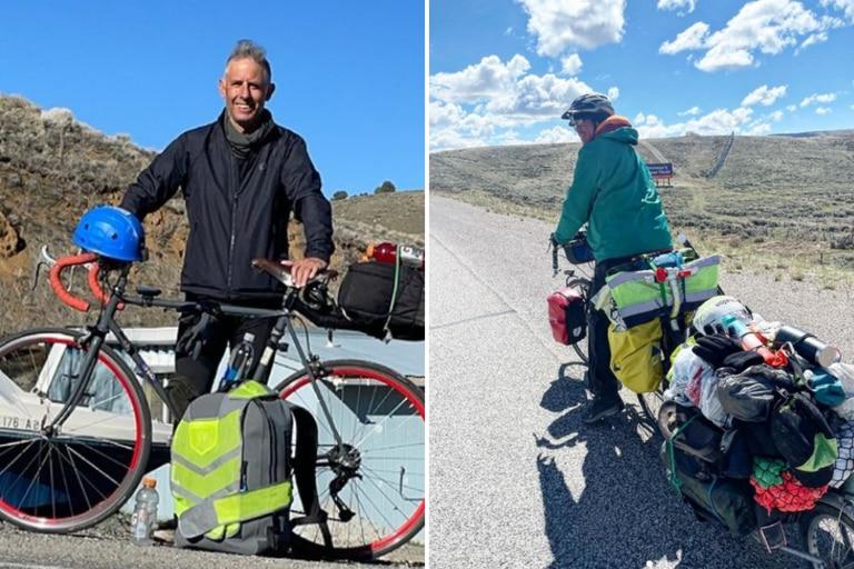 travesia-a-pedal:-es-argentino,-tiene-50-anos-y-cruza-estados-unidos-en-bicicleta