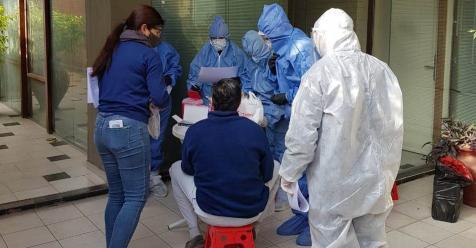 por-segundo-dia-consecutivo,-se-registro-un-nuevo-record-de-contagios-de-coronavirus-en-santiago