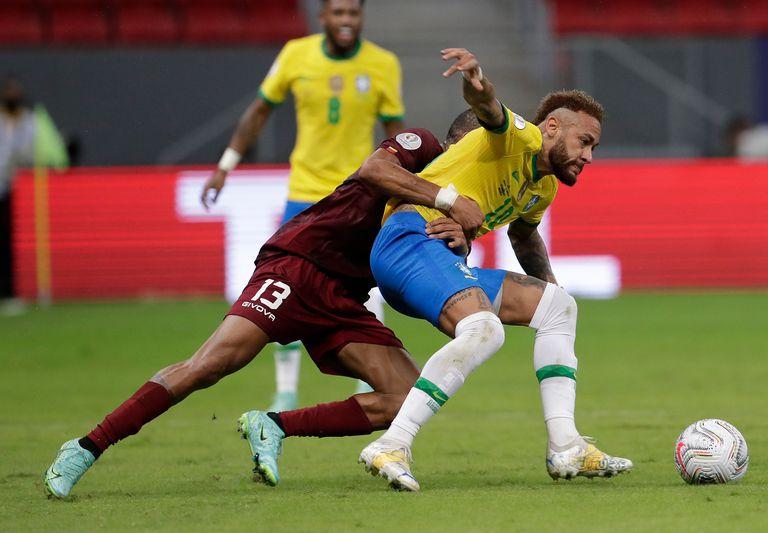 brasil-–-venezuela:-la-seleccion-anfitriona-derrota-a-la-vinotinto-en-el-inicio-de-copa-america-2021-en-brasilia