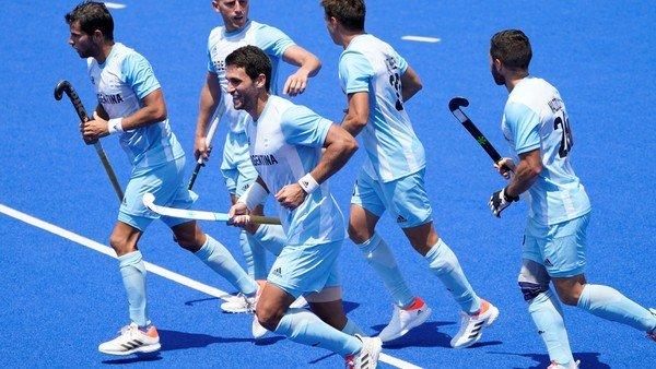 tokio-2020:-los-leones-empataron-con-espana-en-su-debut-en-los-juegos-olimpicos